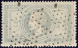 No 33, Obl étoile évidée. - TB - 1863-1870 Napoléon III. Laure