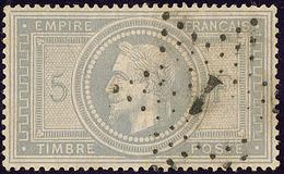 No 33, Obl étoile 1. - TB - 1863-1870 Napoléon III. Laure