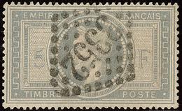 No 33, Obl Gc 3352. - TB - 1863-1870 Napoléon III. Laure