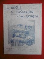 AVIATION ET SPORTS REVUE ILLUSTREE VEDRINES A TROUVILLE COUPE MICHELIN TRAIN DE CERFS VOLANTS 1911 N° 58 - Books, Magazines, Comics