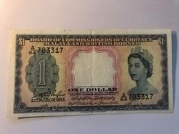 Billet Malaya And Britsh Borneo 1 Dollar - Malaysie