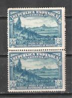 ESPAÑA 1938. DEFENSA DE MADRID. EDIFIL Nº 757 B/2  MNH** - 1931-50 Nuevos & Fijasellos