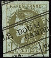 Oblitérations.Impression Typo. No 39IIe. - TB - 1870 Emission De Bordeaux