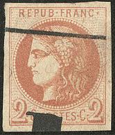 Oblitérations.Impression Typo. No 40IIa. - TB - 1870 Emission De Bordeaux