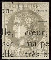 Oblitérations.Impression Typo. No 41II. - TB - 1870 Emission De Bordeaux