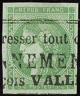 Oblitérations.Impression Typo. No 42IIg, Jolie Pièce. - TB - 1870 Emission De Bordeaux