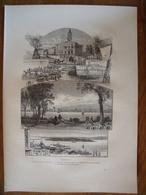 Canada, Montréal    Gravure    1880 - Vieux Papiers