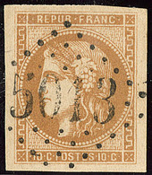 Oblitérations.Bureaux Français à L'étranger. No 43I, Obl Gc 5013 Blidah, Jolie Pièce. - TB - 1870 Emission De Bordeaux