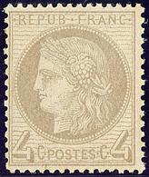 ** No 52, Gris, Très Frais. - TB - 1871-1875 Cérès