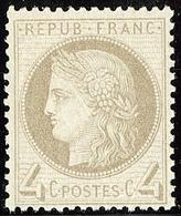 * No 52, Très Frais. - TB - 1871-1875 Cérès