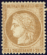 * No 55, Bistre. - TB - 1871-1875 Cérès