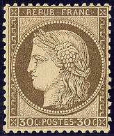 * No 56, Brun, Très Frais. - TB - 1871-1875 Cérès
