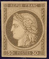 ** Non Dentelés. No 56b, Très Frais. - TB - 1871-1875 Cérès