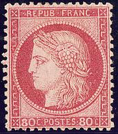* No 57, Rose, Très Frais. - TB. - R - 1871-1875 Cérès