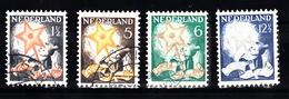 Nederland 1933 Nvph Nr 261 - 264, Mi Nr 268 - 271 ; Kinderzegels - Periode 1891-1948 (Wilhelmina)