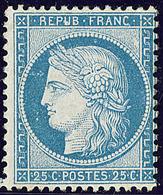 ** No 60B, Bleu Type II, Centrage Courant Mais Très Frais Et TB. - R - 1871-1875 Cérès
