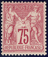 ** No 71, Carmin, Très Frais. - TB. - R - 1876-1878 Sage (Type I)