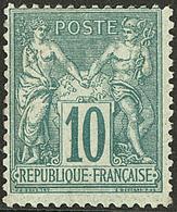 * No 76, Gomme Diminuée Mais Très Frais Et TB - 1876-1878 Sage (Type I)