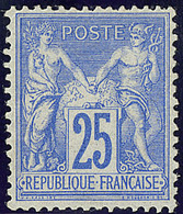 ** No 78, Outremer, Très Frais. - TB. - R - 1876-1878 Sage (Type I)