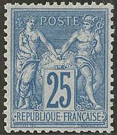 ** No 79, Bleu, Très Frais. - TB - 1876-1878 Sage (Type I)