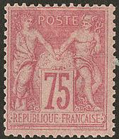 * No 81, Rose, Très Frais. - TB. - R - 1876-1878 Sage (Type I)