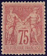 * No 81, Gomme Altérée Mais Très Frais Et TB. - R - 1876-1878 Sage (Type I)
