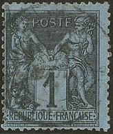 Bleu De Prusse. No 84, Nuance Pâle. - TB. - R - 1876-1878 Sage (Type I)