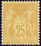 ** No 92, Très Frais. - TB. - R - 1876-1878 Sage (Type I)