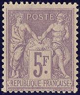 * No 95, Très Frais. - TB - 1876-1878 Sage (Type I)