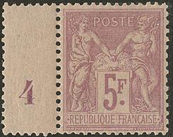 * No 95a, Violet Pâle Sur Lilas Clair, Bdf Mill. 4. - TB - 1876-1878 Sage (Type I)