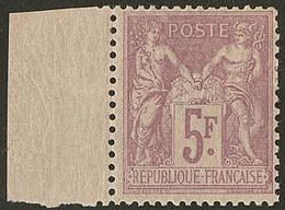 * No 95f, Lilas Vif, Petit Bdf. - TB - 1876-1878 Sage (Type I)