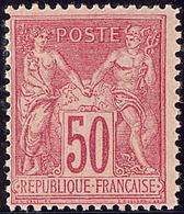 ** No 98, Rose, Centrage Courant Mais Très Frais Et TB - 1876-1878 Sage (Type I)
