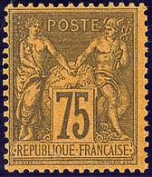 ** No 99, Très Frais. - TB - 1876-1878 Sage (Type I)