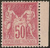 ** No 104, Rose, Petit Bdf, Très Frais Et Centré. - TB - 1876-1878 Sage (Type I)
