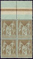 ** No 105, Bloc De Quatre Bdf. - TB - 1876-1878 Sage (Type I)