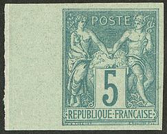 * Non Dentelé. No 64a, Bdf, Très Frais. - TB - 1876-1878 Sage (Type I)