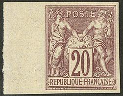 * Non Dentelé. No 67a, Bdf, Très Frais. - TB - 1876-1878 Sage (Type I)