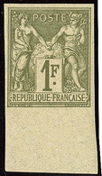 * Non Dentelé. No 72a, Bdf, Très Frais. - TB - 1876-1878 Sage (Type I)