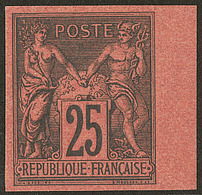 * Non Dentelé. No 91b, Bdf, Très Frais. - TB - 1876-1878 Sage (Type I)