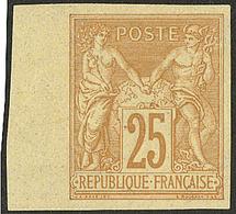 * Non Dentelé. No 92b, Bdf, Très Frais. - TB - 1876-1878 Sage (Type I)