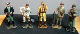 Soldats De Plomb, Armée Allemande 1917 , 5 Figurines - Soldats De Plomb