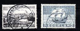 Nederland 1934 Nvph Nr 267 + 268, Mi Nr 274 + 275 ; Curacao - Periode 1891-1948 (Wilhelmina)