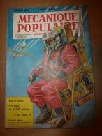 1951 MÉCANIQUE POPULAIRE:Faire Une Petite Remorque D'enfant ;Hélicoptère à Tout Faire;Faire Sa Girouette De Toit ; Etc - Sciences & Technique