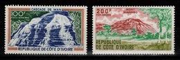 Cote D'Ivoire - YV PA 45 & 46 N** - Ivory Coast (1960-...)