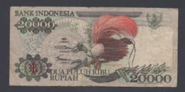 Banconota Indonesia 20000 Rupiah 1992 (circolata) - Indonesia