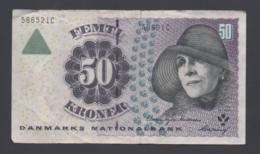 Banconota Danimarca 50 Kroner 1999/2000 - Danemark