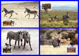 Protection De La Nature - Zèbre De Montagne De Hartmann (Equus Zebra Hartmannae) - Namibie - 1991 - Namibie (1990- ...)