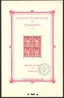 ** Paris. Obl. Hors Timbres. No 1b, Obl Cad 2.5.25. - TB. - R - Blocs & Feuillets
