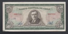 Banconota Chile - 50 Scudi -1962 (circolata) - Cile