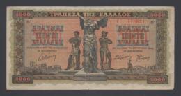 Banconota Grecia - 5000 Dracme - 1942 (circolata) - Greece